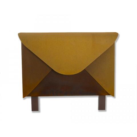 Rodenburg Corten staal brievenbus met staanders